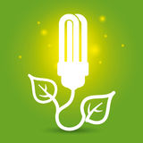 Bulb design, vector illustration. Royalty Free Stock Images