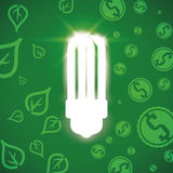 Bulb design, vector illustration. Royalty Free Stock Photos