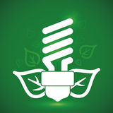 Bulb design, vector illustration. Stock Photography