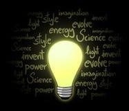 Bulb energy Royalty Free Stock Photo