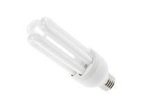 Bulb energy saving Stock Images