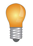 Bulb glowing vector Royalty Free Stock Photos