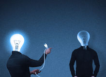 Bulb-head people interaction