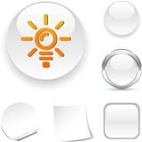 Bulb  icon. Stock Photography