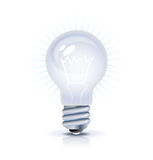 Bulb icon stock illustration