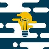 Bulb icon Stock Photography