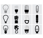 Bulb Icon Royalty Free Stock Image