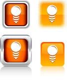 Bulb  icons. Stock Photos