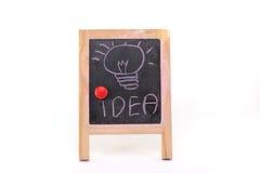 Bulb idea Stock Images
