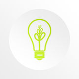Bulb, idea, business, information Royalty Free Stock Photos
