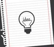 Bulb idea design Stock Photo