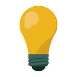 Bulb idea innovation creative shadow. Vector illustration eps 10 Stock Image