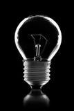 Bulb isolated on black Stock Photo