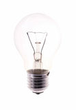 Bulb isolated on white Royalty Free Stock Image
