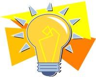 bulb light Στοκ Εικόνα