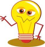 bulb light Στοκ Φωτογραφία