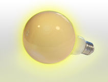 Bulb on a light background Stock Image