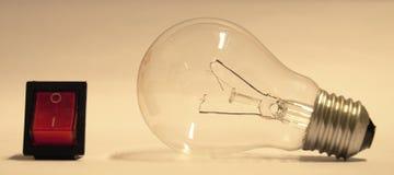 Bulb light broken Stock Images