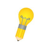 Bulb light energy Stock Photo
