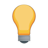 Bulb light icon Royalty Free Stock Image