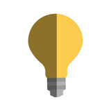 Bulb light icon. Over white background. colorful design. vector illustration Stock Image