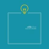 Bulb light idea Stock Photo