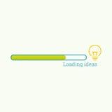Bulb light idea stock illustration