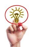 Bulb light Royalty Free Stock Photography