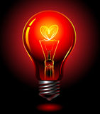 Bulb-love Royalty Free Stock Photos