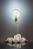 Bulb question Stock Photos