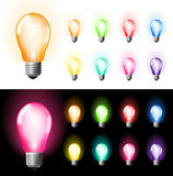 Bulb set Stock Photography