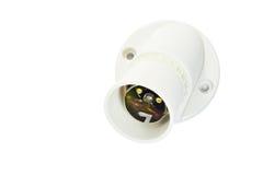 Bulb Socket Stock Photo