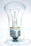Bulb standing on prop Royalty Free Stock Photo