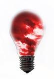 Bulb storm Stock Photo
