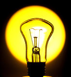 Bulb in the sun Royalty Free Stock Images