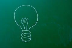 Bulb symbol Royalty Free Stock Image