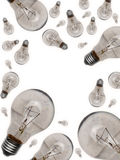 Bulb uniqueness concept Royalty Free Stock Images