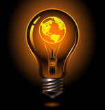Bulb-usa Stock Photo