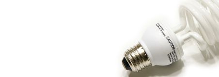 Bulb Web Banner Stock Photos