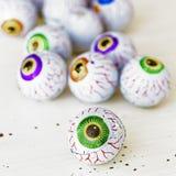 Bulbi oculari di Candy Fotografia Stock