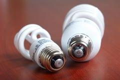 Bulbo ahorro de energía Foto de archivo libre de regalías