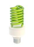 Bulbo ahorro de energía aislado Imagen de archivo libre de regalías
