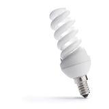 Bulbo ahorro de energía, bombilla de poca energía Imagen de archivo libre de regalías