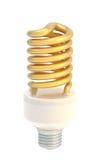 Bulbo da economia de energia isolado Imagens de Stock Royalty Free