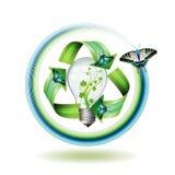 Bulbo de Eco Imagem de Stock Royalty Free