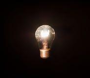 Bulbo de lâmpada incandescente Fotografia de Stock
