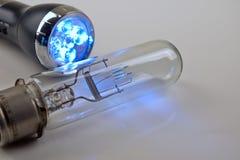 Bulbo de la luz eléctrica Imagenes de archivo