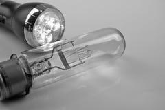 Bulbo de la luz eléctrica Fotos de archivo libres de regalías