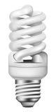 Bulbo de poupança de energia foto-realístico do vetor Fotografia de Stock Royalty Free