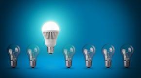 Bulbo del LED Foto de archivo libre de regalías